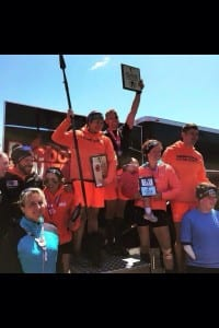 May 23, 2014:  Claude Godbout of Battlefrog Pro Team wins first place at Spartan Sprint in Montreal.