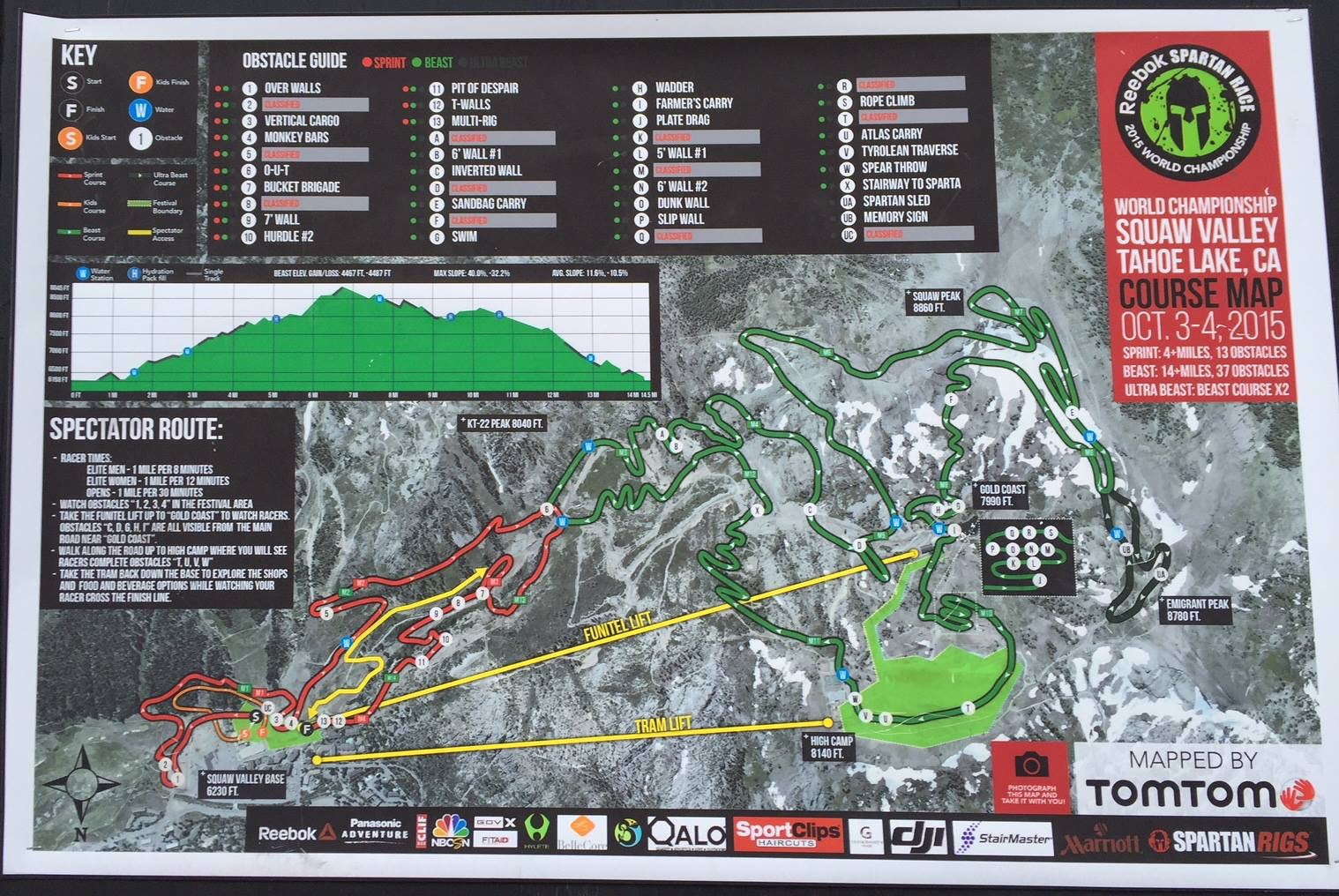 Race Recap 2015 Spartan Race World Championship Beast