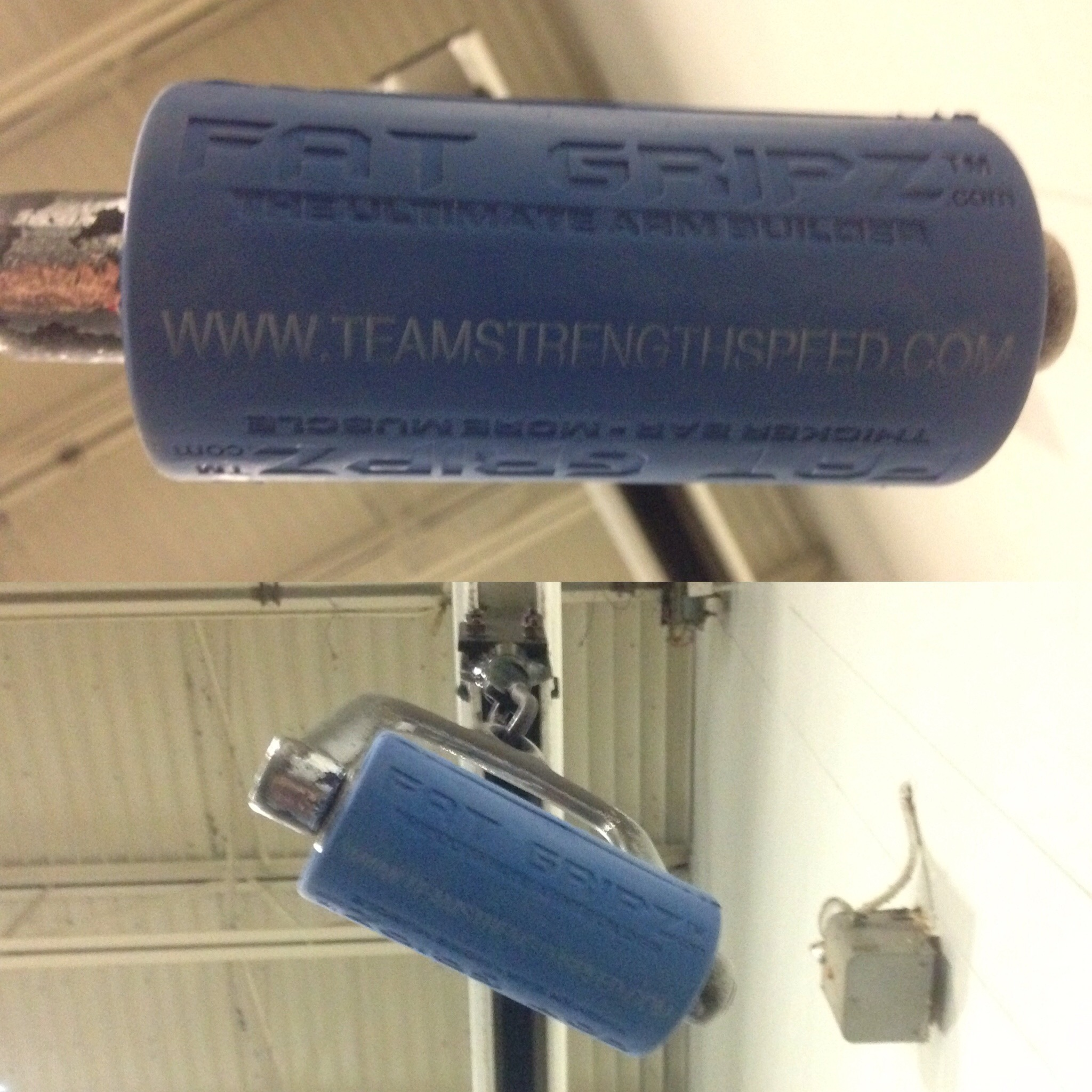Custom TeamStrengthSpeed.com Fat Gripz