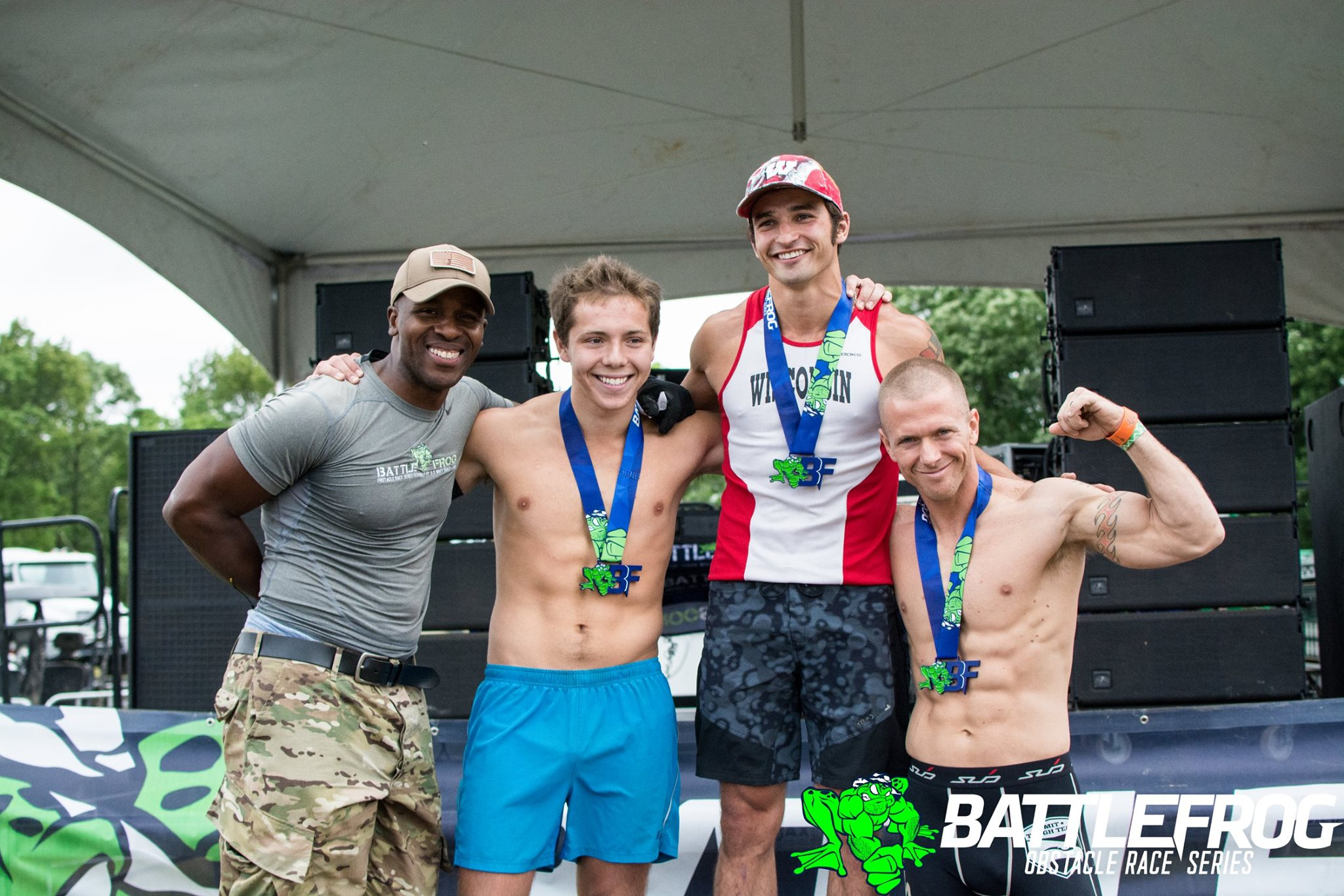 Elite Male Podium.